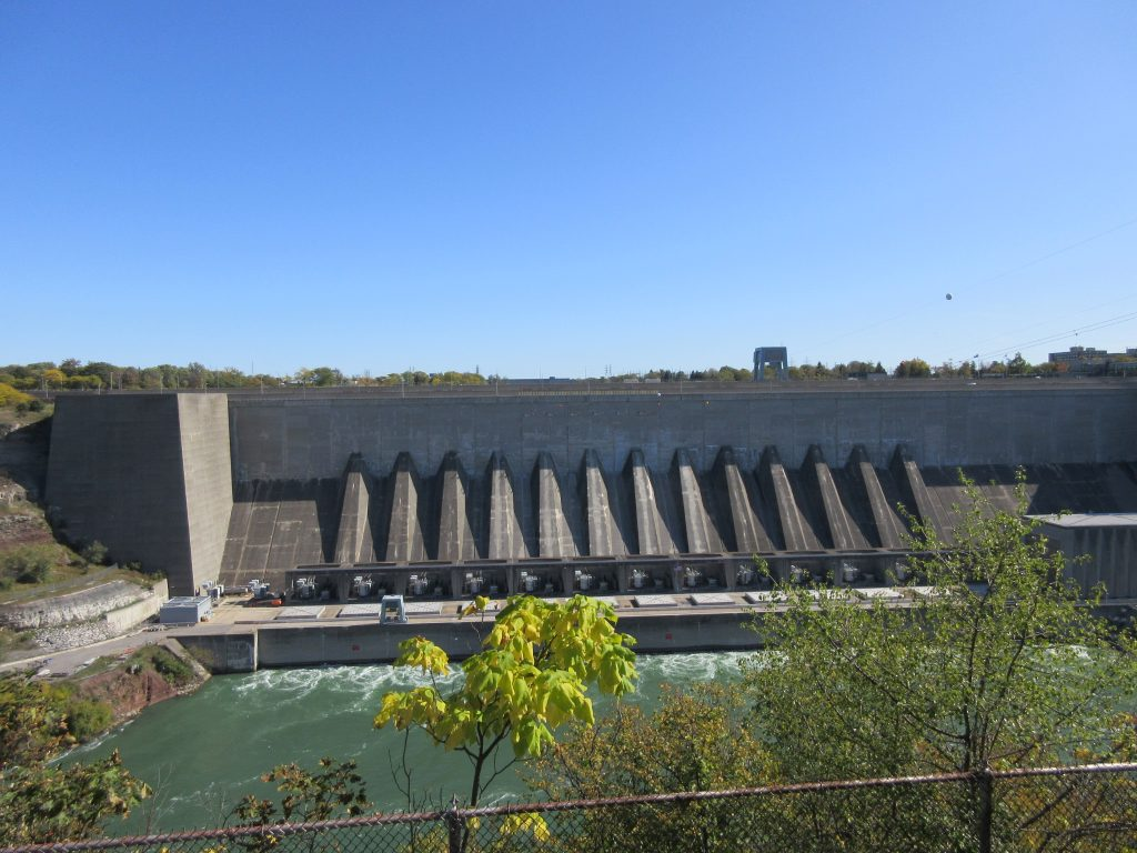 hydropower plant in Ontario