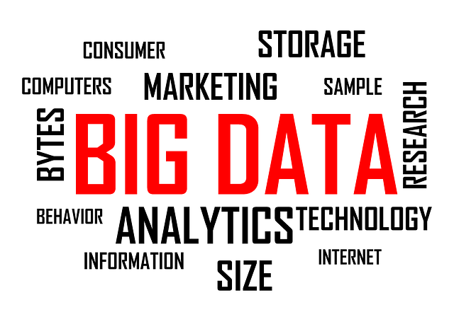 """big data"" in text with related text around it, such as ""analytics"""