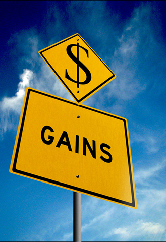 earn gains from the stock market