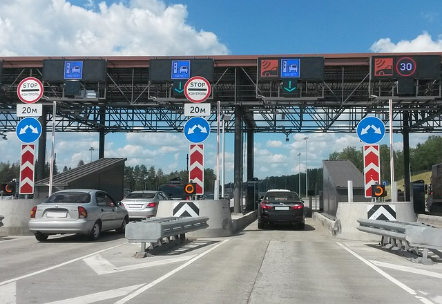 toll road in Russia